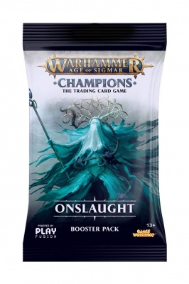 Warhammer Age of Sigmar: Champions Wave 2 Onslaught Booster or Display Eng